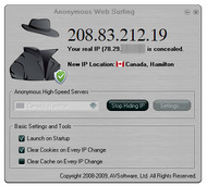 Anonymous Web Surfing screenshot